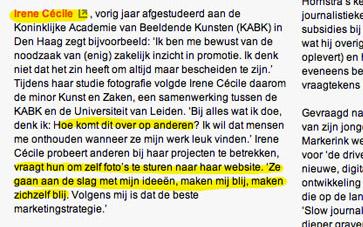Artikel op DutchDoc