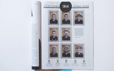 Zuignapjes in het Volkskrant Magazine
