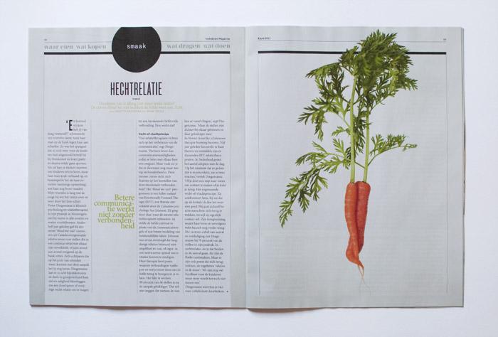 Omhelzende wortels voor Volkskrant Magazine