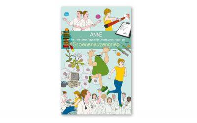 Stripboek wordt getest door kinderen in het Sophia Kinderziekenhuis