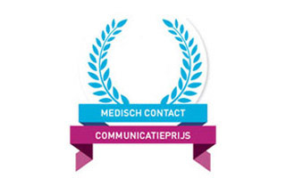 Strip gedrukt en genomineerd voor Medisch Contact Communicatieprijs 2016