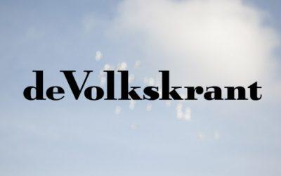 Mijn naam in de Volkskrant (maar ook niet meer dan dat hoor :) )