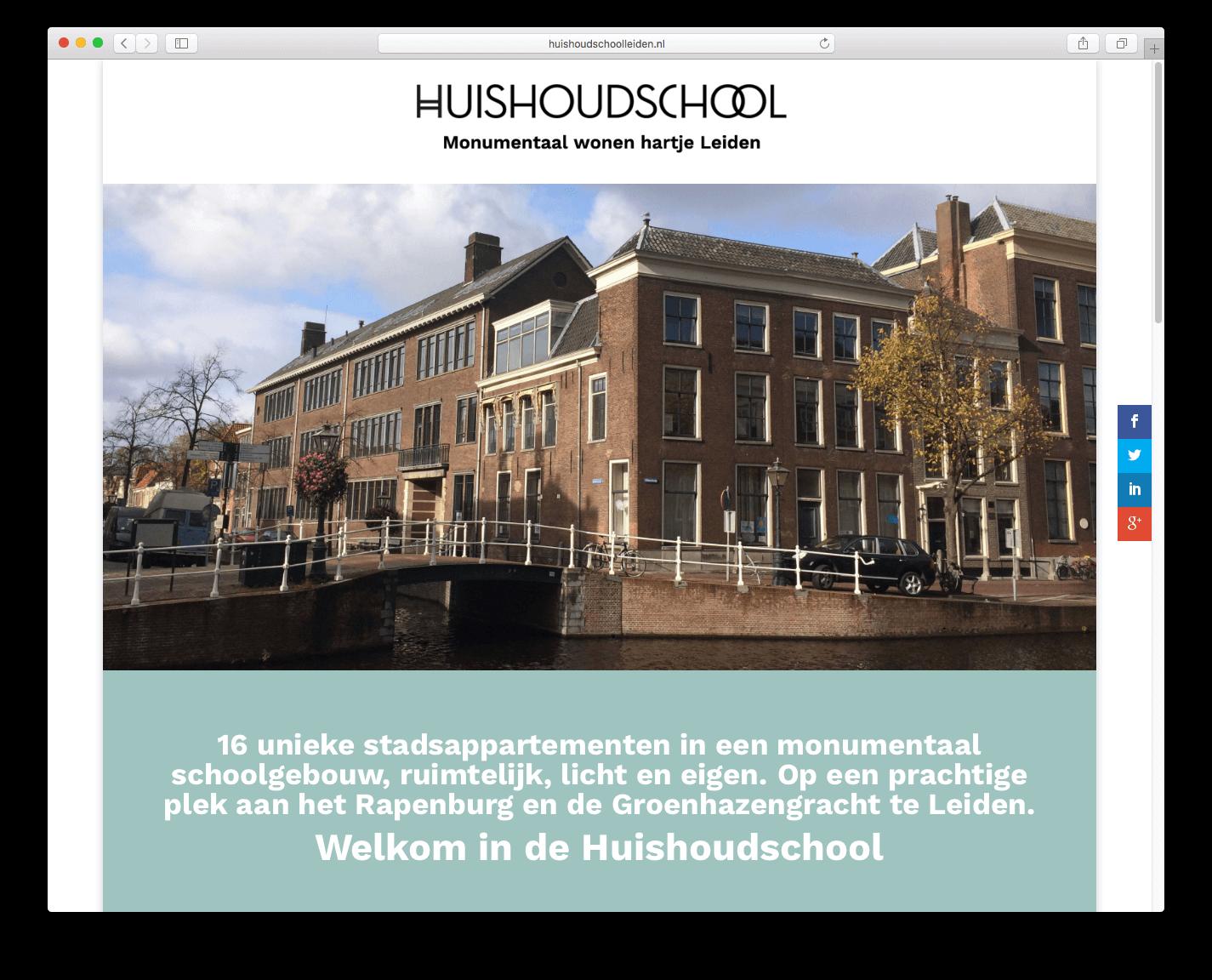 2016-01-06 Website Huishoudschool preview 1
