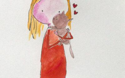 Zomaar: meisje met poes