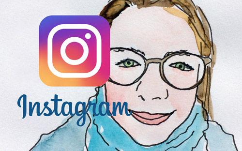 Iedere dag een tekening op Instagram