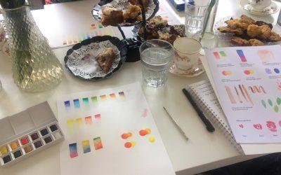 Workshops bij collega illustratoren