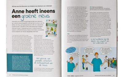 "Publicatie in ""Kind en Zorg"" magazine"