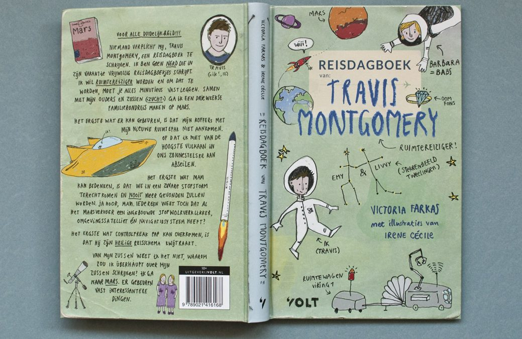 "Children's book: ""Travis Montgomery's Travel Diary"" is out now"
