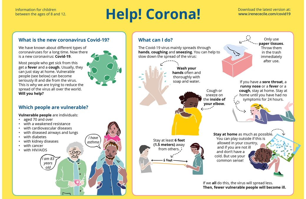 The new Corona virus Covid-19 – information for children