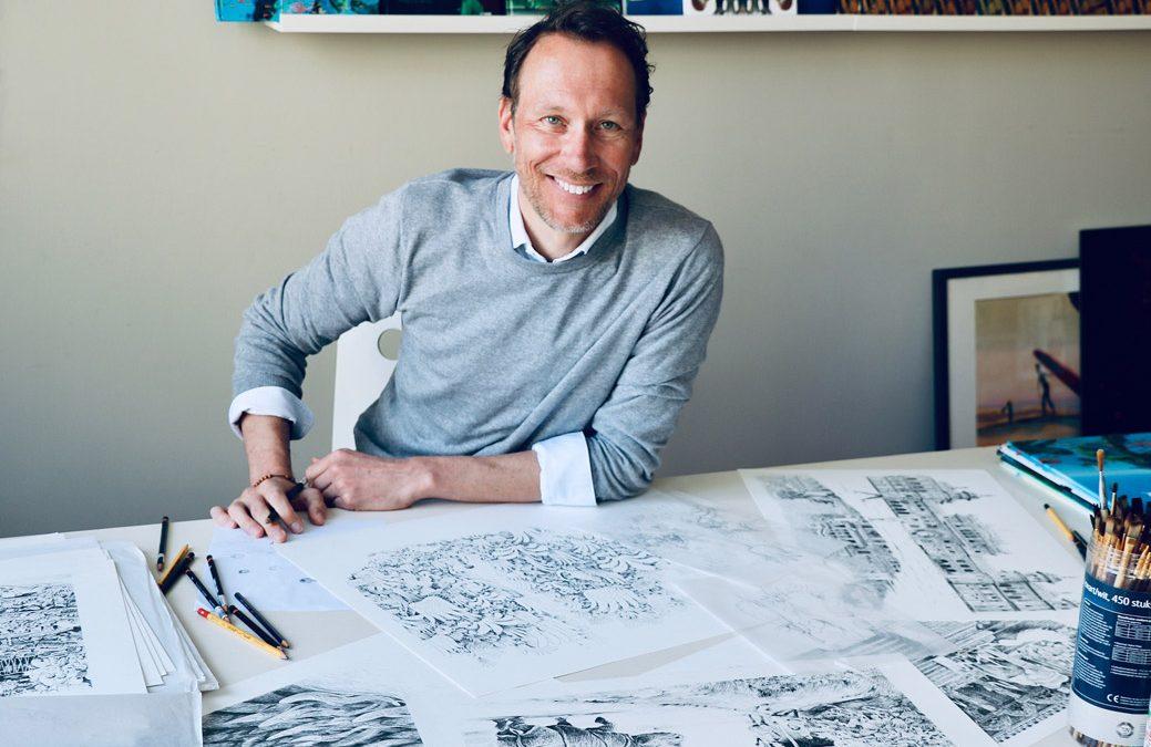 #22 Vragen van luisteraars aan Mark Janssen: dé formule voor een goed prentenboek, een brief van Lemniscaat, en illustraties uit heel veel laagjes