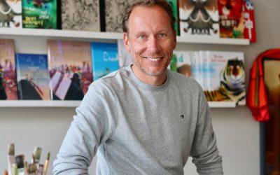 #6 Mark Janssen over geld verdienen als kinderboekenillustrator en de balans tussen rust en werk – en héél véél boeken